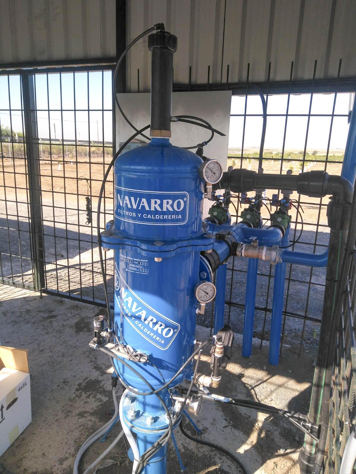 Navarro Filtros y calderería Nuevas Instalaciones Julio 2018