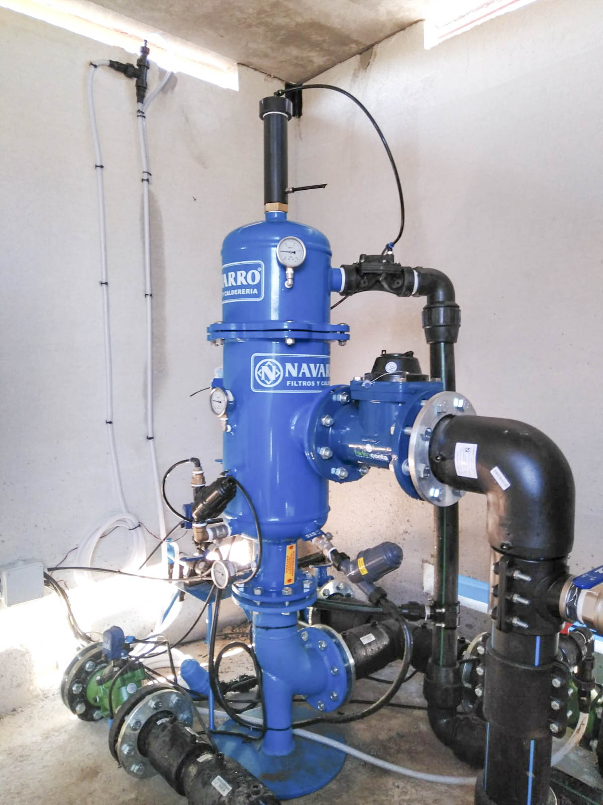 Navarro Filtros y calderería Nuevas Instalaciones Agosto 2018