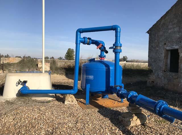 Uso de filtros de arena en el sistema de filtrado - NAVARRO FILTROS